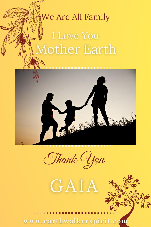 Thank You Gaia, Mother Earth, Divine Mother. #Thankyou #Gaia #Motherearth #Gratitude #Blessings