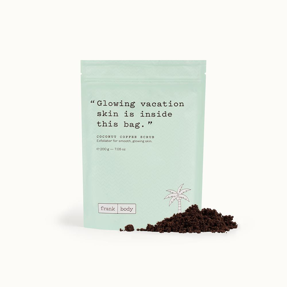 Coconut coffee scrub with images coconut coffee frank