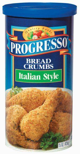 Progresso Bread Crumbs Italian Style Bread Crumbs Enriched Flour Wheat Flour