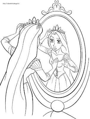 Disegni Da Colorare Rapunzel Lintreccio Della Torre