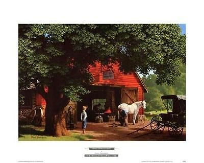 Paul-Detlefsen-Horse-and-Buggy-Days-Open-Edition - My parents had this picture in their house when I was a child.