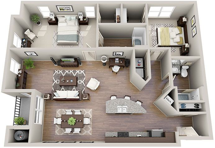 Solis Sharon Square is a luxury apartment community located in the heart of SouthPark, Charlotte, NC