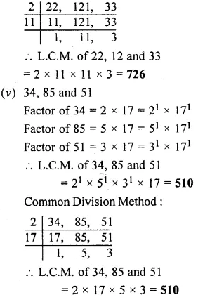 Selina Concise Mathematics Class 6 Icse Solutions Chapter 8 Hcf And Lcm Learn Cram Icsesolutions Concisemathscla Maths Solutions Class 6 Maths Mathematics