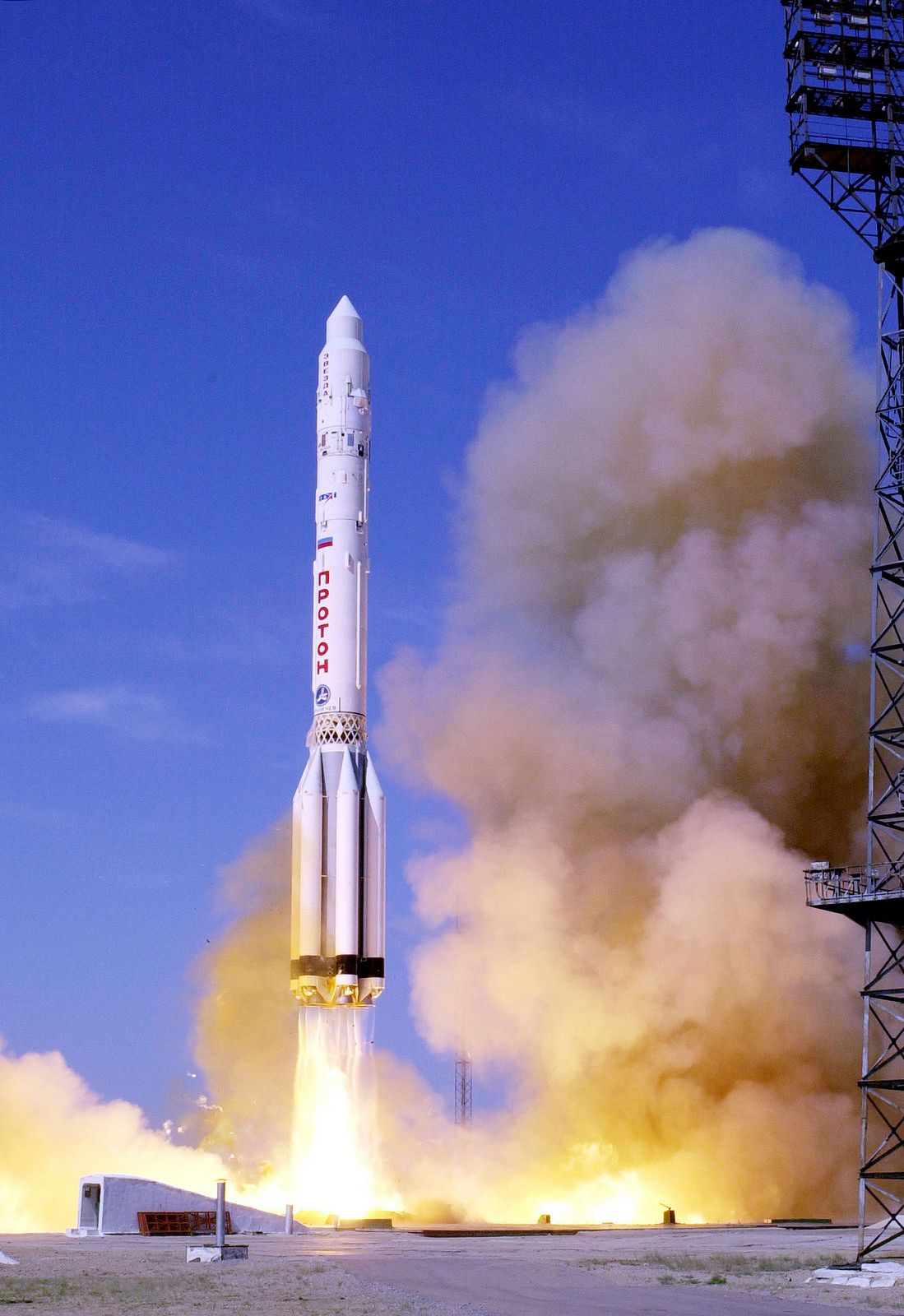 Zvezda Launch | by NASA on The Commons