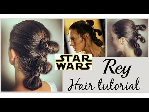 Star Wars Hairstyle Rey Meet My Friend Chewbacca Rey Hair Star Wars Star Wars Hair Rey Star Wars Hair