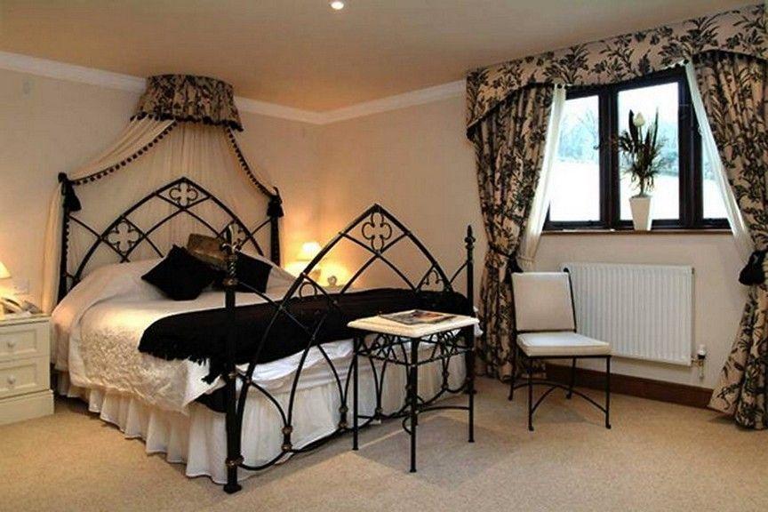 Gothic Metal Bed Frame | Bedrooms | Pinterest | Gothic metal, Metal ...