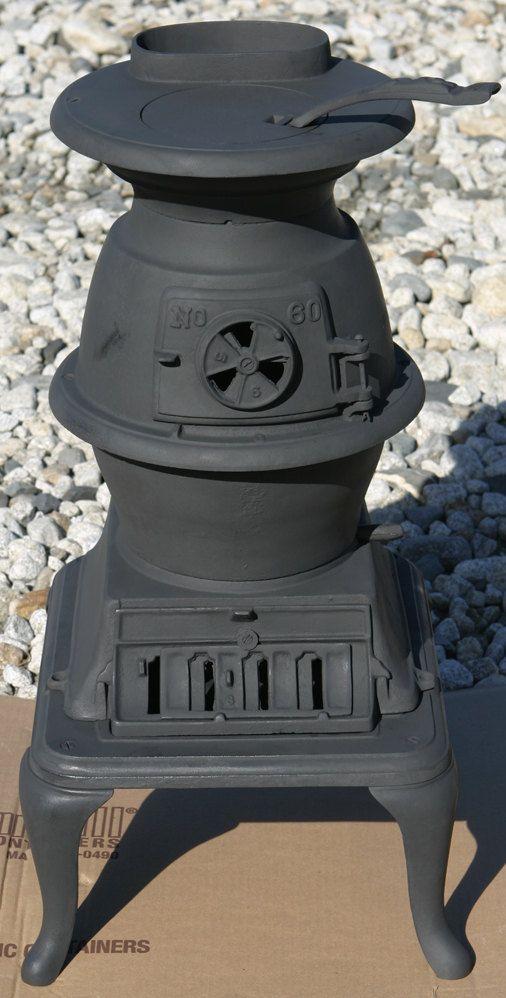 Antique Fully Restored Birmingham Stove Amp Range Parlor Pot