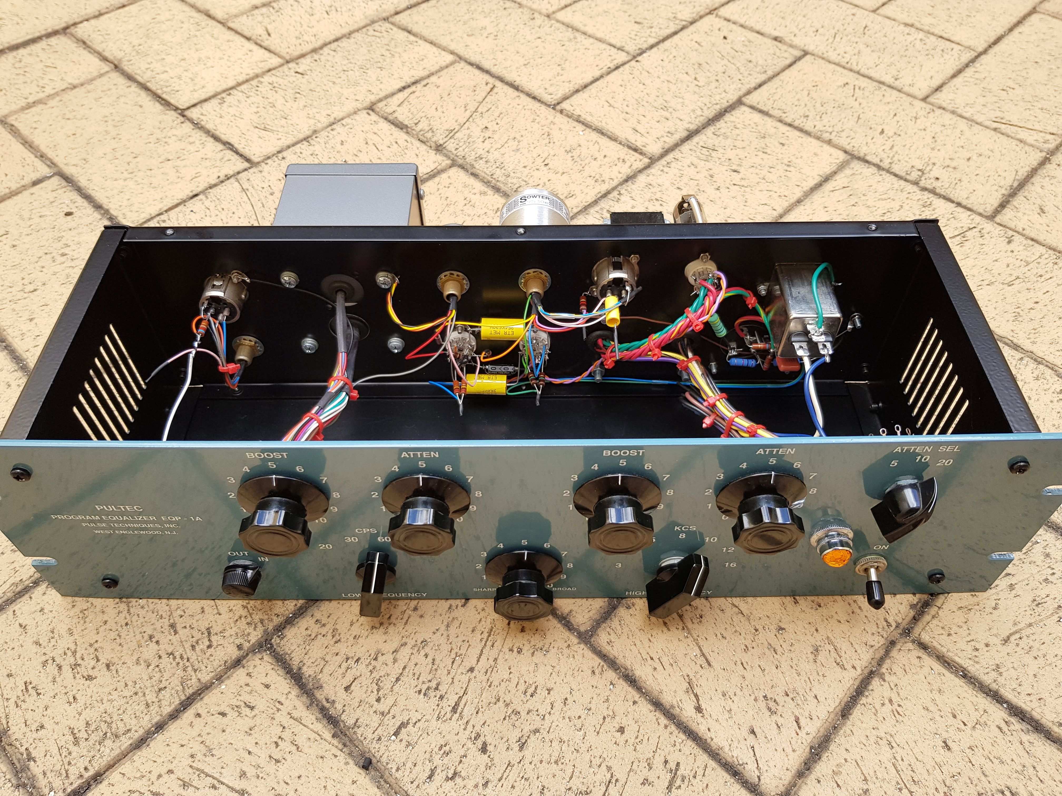 My Take On A Point To Version Of Pultec Eqp1a Tritone Mosfet Amplifier Otl 100w By K1058j162