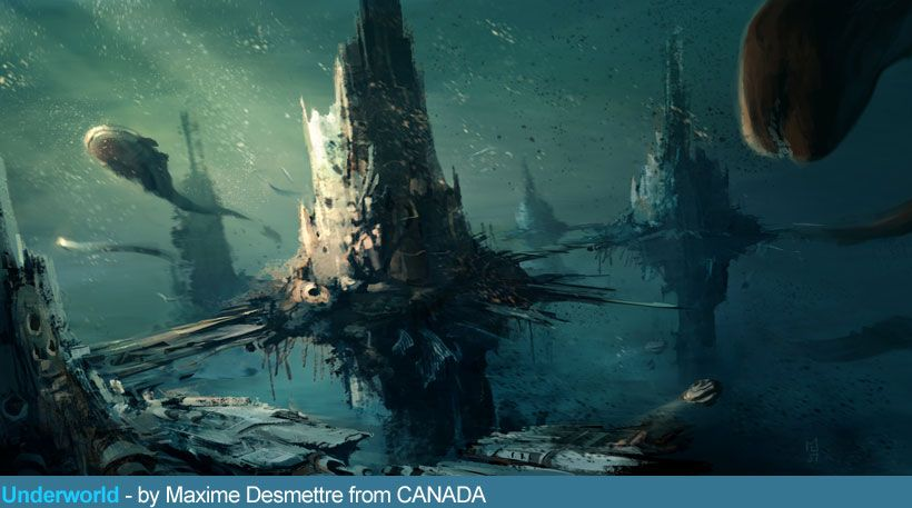 Architecture Contest Underwater City Canada