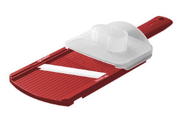 Kyocera Adjustable Ceramic Mandoline Slicer Makes Paper Thin Slices Plus 3 Thicker Slices Easy To Use And To Clean Mandolin Slicer Mandoline Ceramic Blade