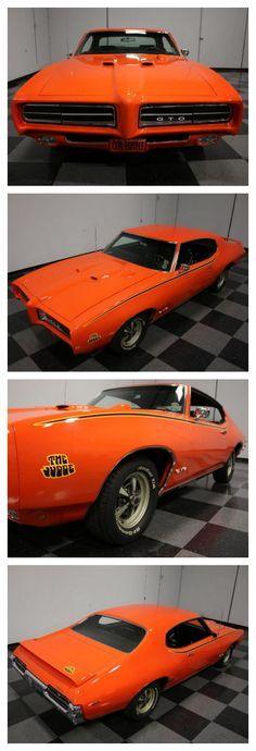 The JUDGE! Check out this rare Pontiac GTO Judge #TurboTuesday