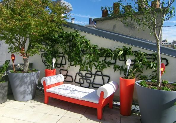 Amenagement terrasses paris. conception de terrasse et balcon ...