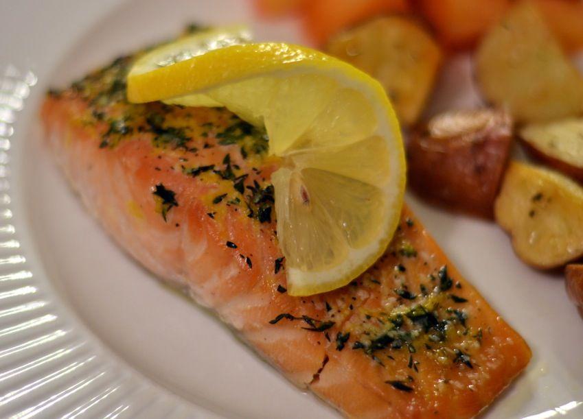 пошаговые рецепты с фото запеченный лосось реальной жизни
