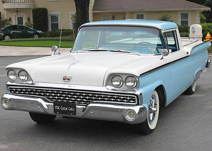 eBay 1959 Ford Ranchero RESTORED CALIFORNIA CAR A/C 65MI