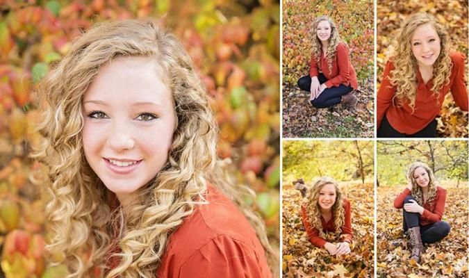 Fall Senior Picture Ideas For Girls | Fall senior picture
