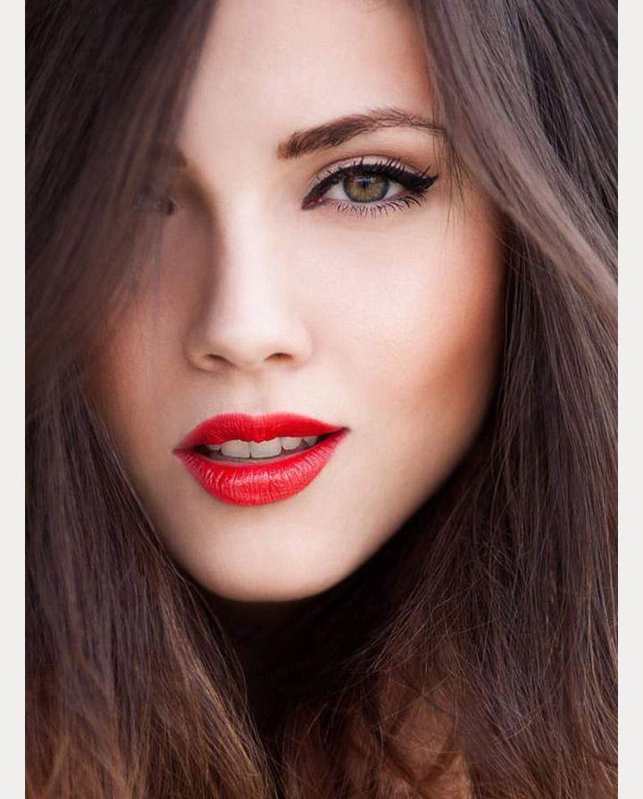Soft Eyes Red Lips 10 Beautiful Looks Makeup Inspiration