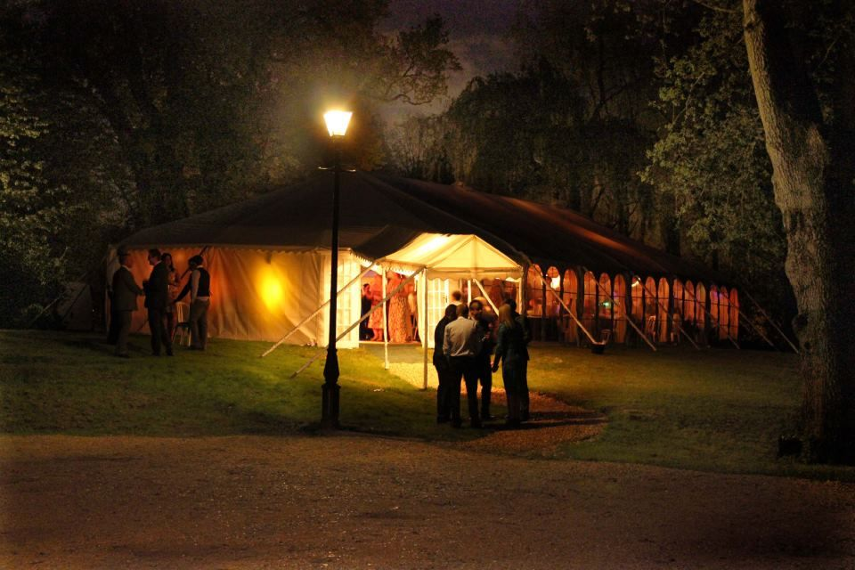 Timsbury Manor Near Winchester In Hampshire Provides A Beautiful Glamping And Wedding Venue Marquee Courtesy