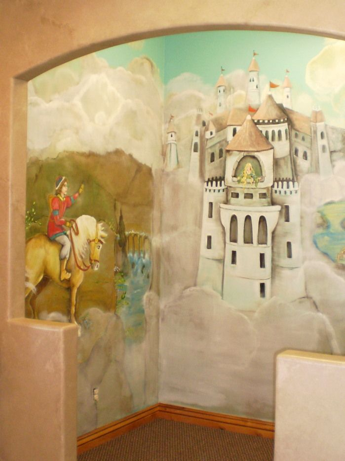 fairy tale rooms/images | FAIRY TALE MURAL IN DENTIST OFFICE PLAY ...