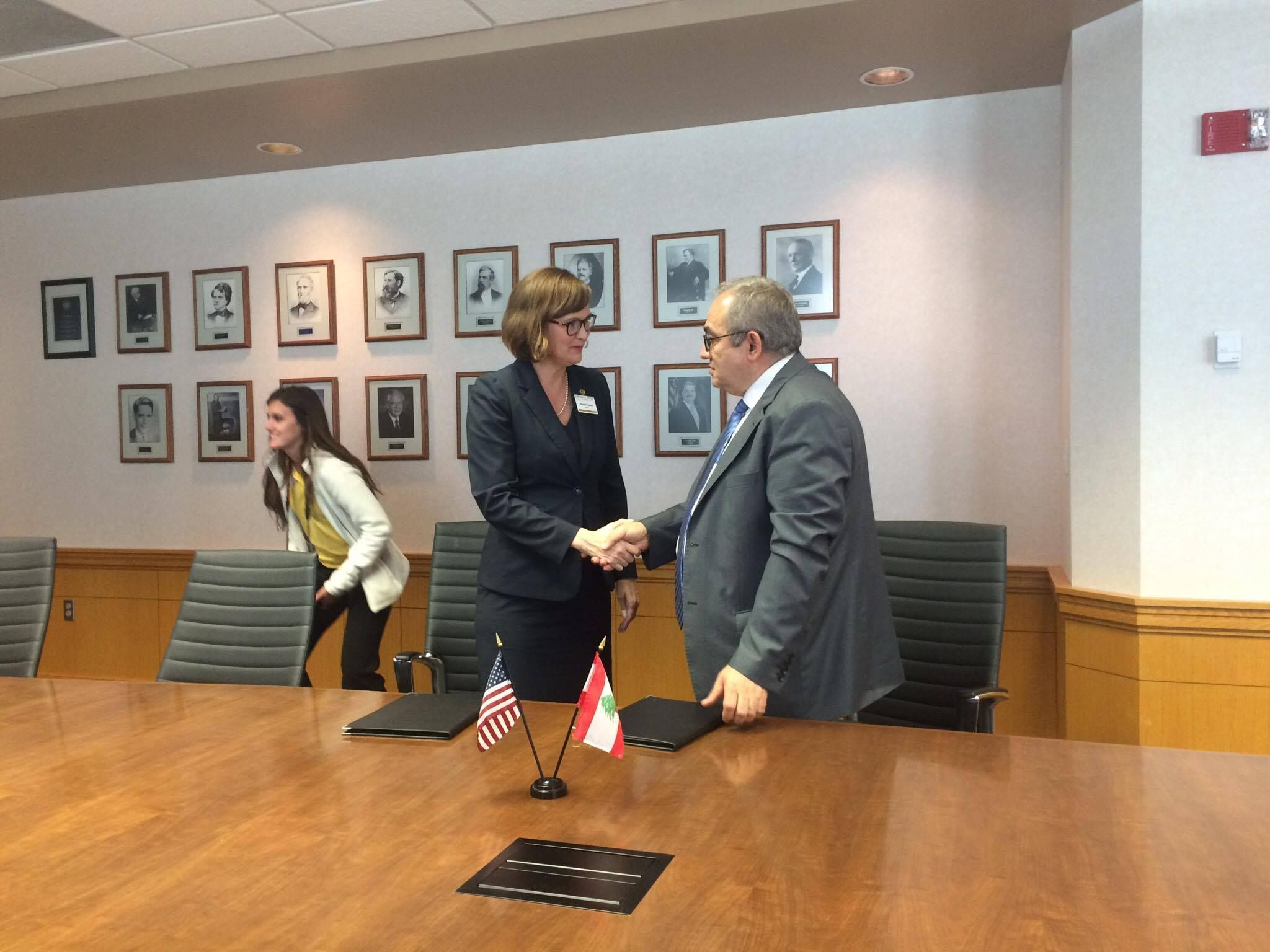 Emporia State And Aul In Lebanon Signed A Credit Transfer Agreement