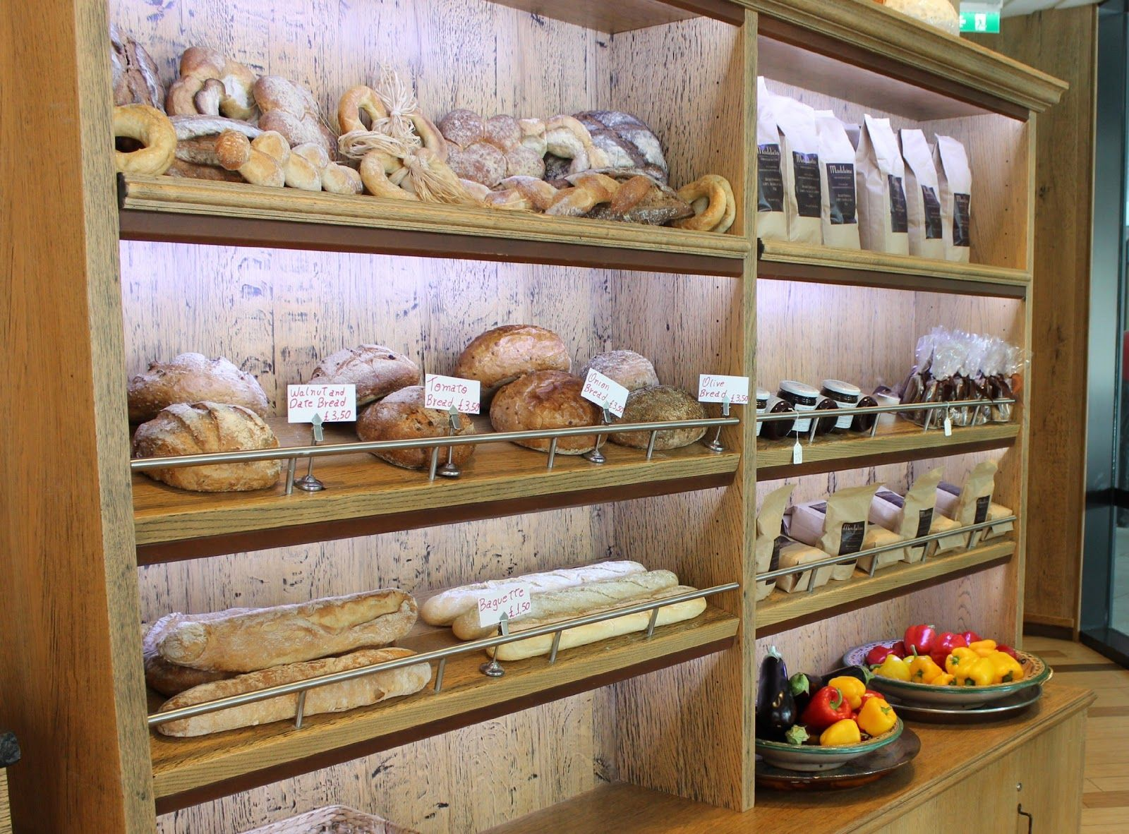 Bread at Madeleine Coffee House at The Cube Birmingham | Bakery ...