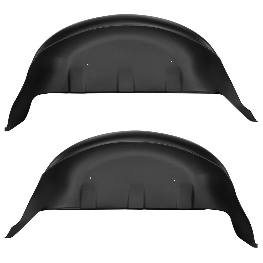 Husky Liners Rear Wheel Well Guards Fits 17 18 F250 350 Products Truck Wheels 2019 Ford Bicycle Wheel