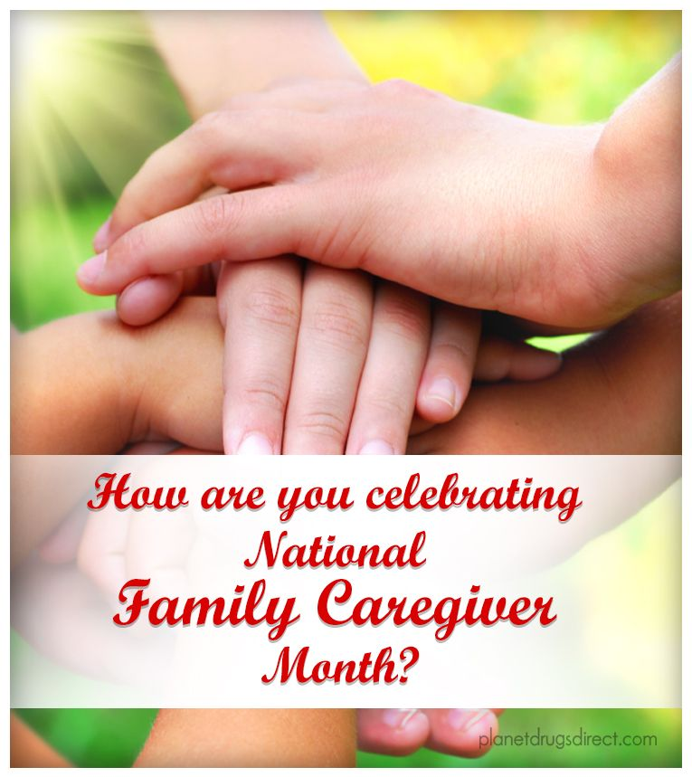 How are you celebrating National Family Caregiver Month