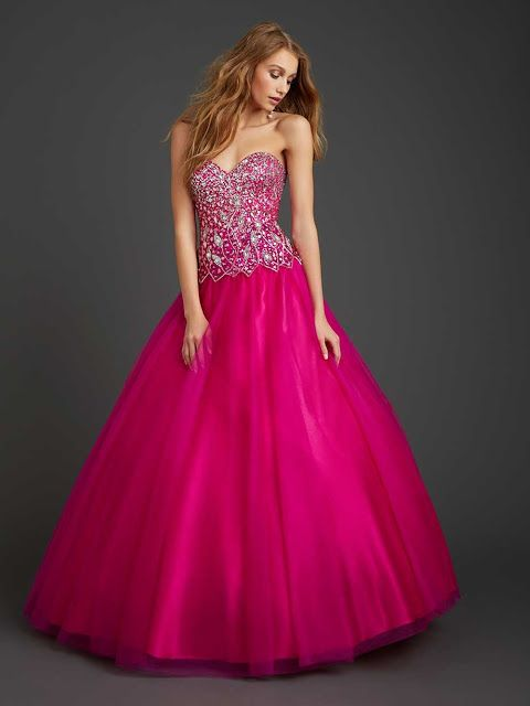 df4517fa3 Nuevos vestidos estilo princesa de 15 años para fiesta ...
