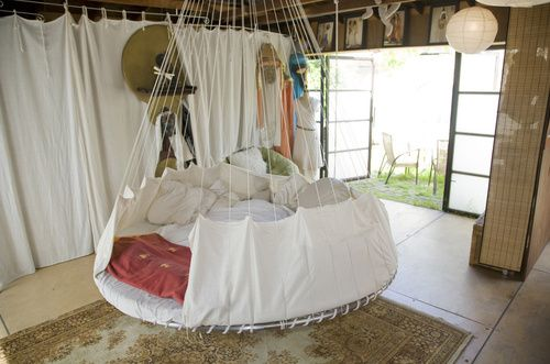 Floating Hippie Bed home Pinterest Awesome beds, Hippie