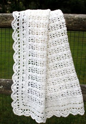 Heirloom Lace Pattern From Best Of Terry Kimbrough Baby Afghans I