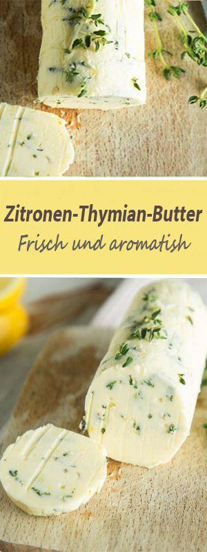 #food #zitronen #thymian #butter #frisch #springlane