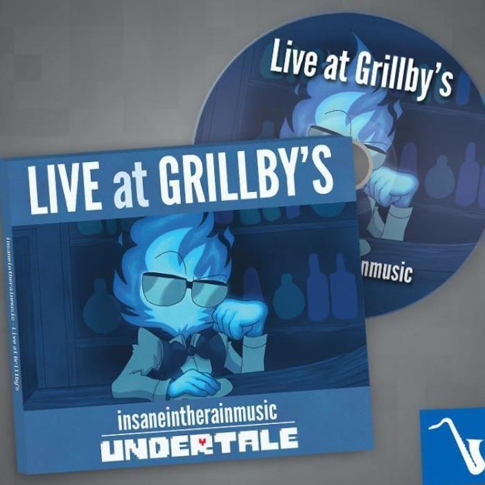"Live at Grillby's"" Album (plus Digital Download)   Music"