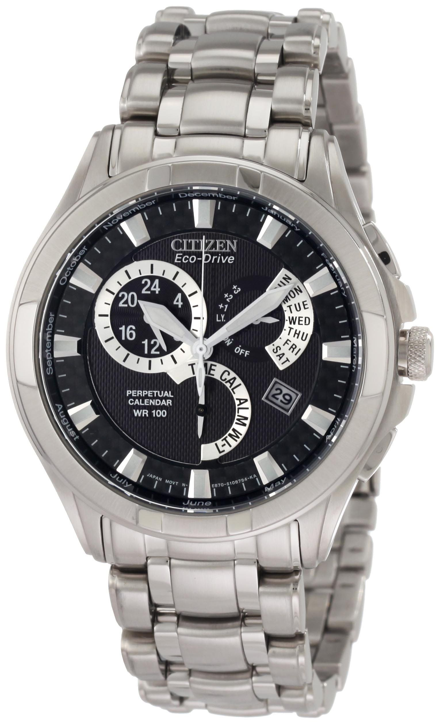 Citizen Men's BL809051E Calibre 8700 Eco Drive Watch