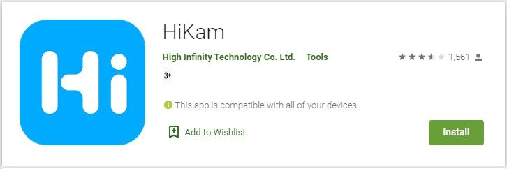 Download & Install HiKam For PC Windows/Mac in 2020