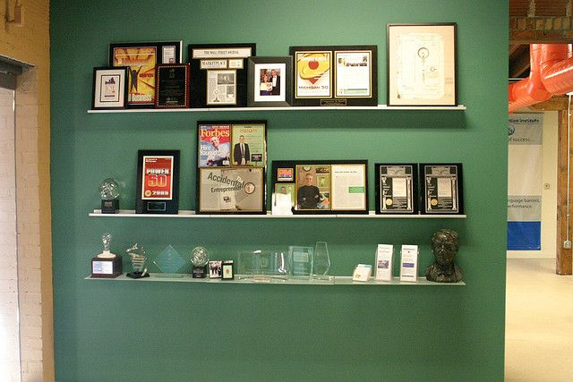 Wall Display For Certificates Google Search Office Counter