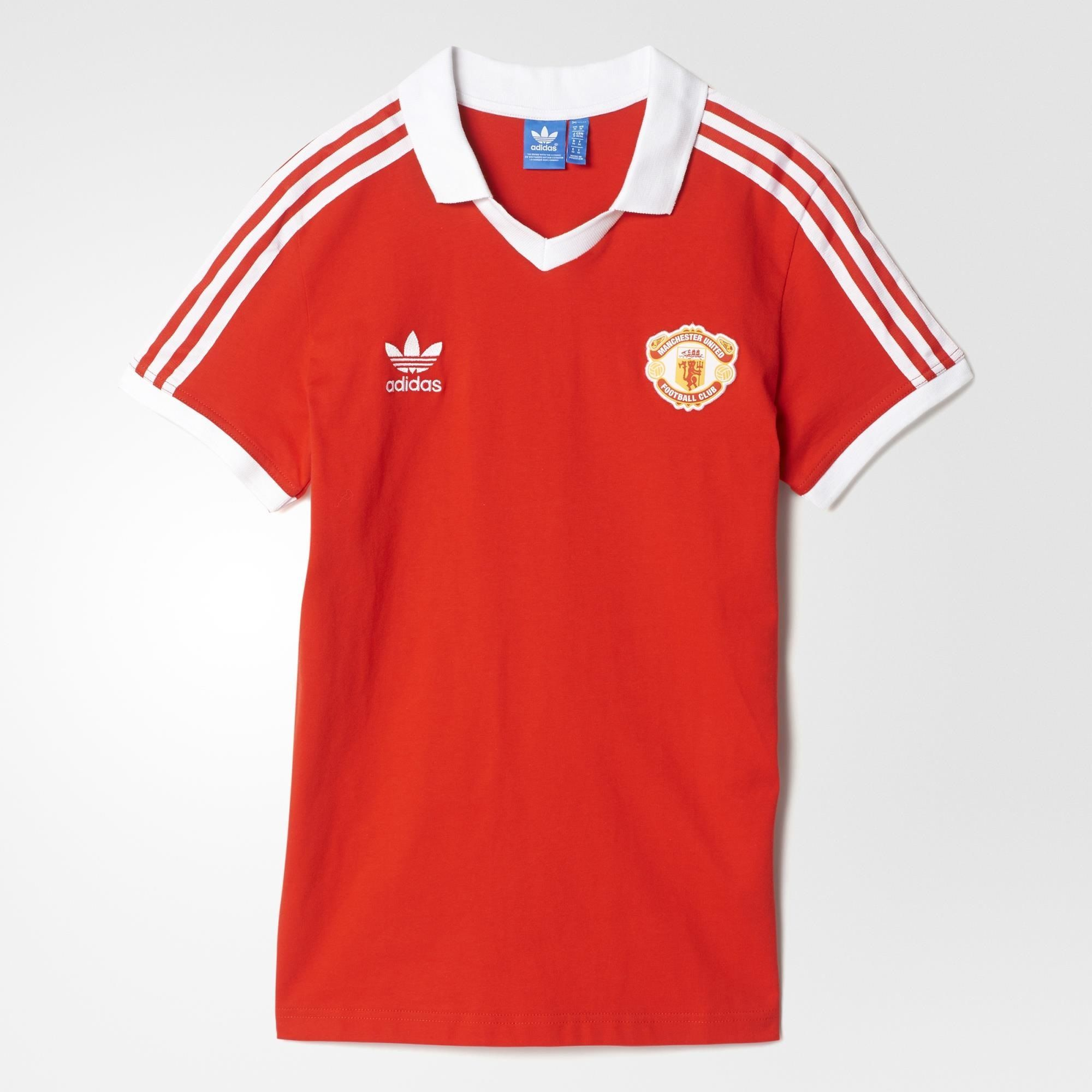 on sale 03ff8 4aa57 Manchester United retro jersey. adidas Originals. $65 ...