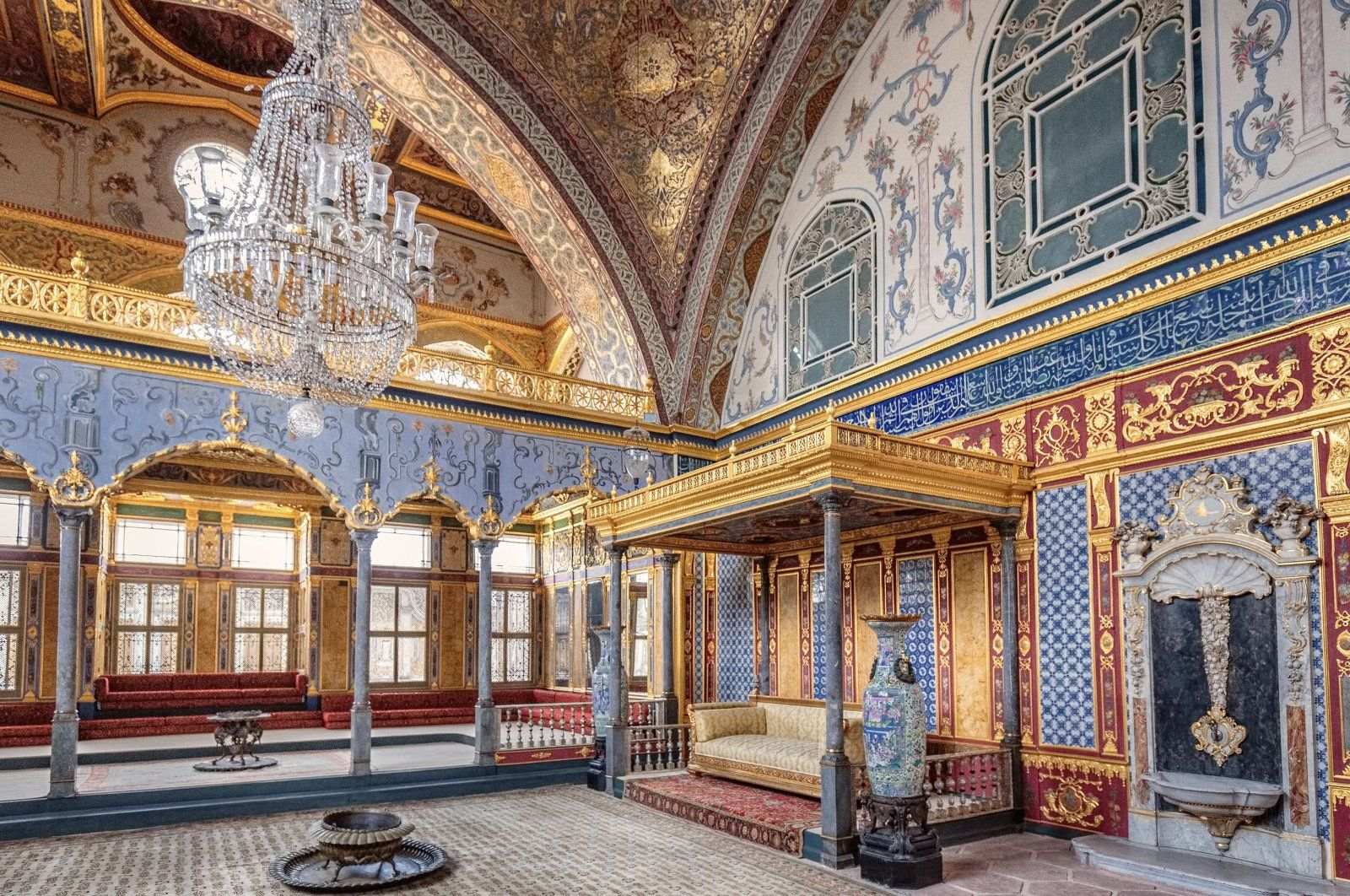 Topkapı Palace is one of the museums available for virtual