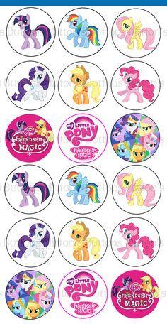 mi pequeo pony imagenes para tarjetas y stickers Buscar con