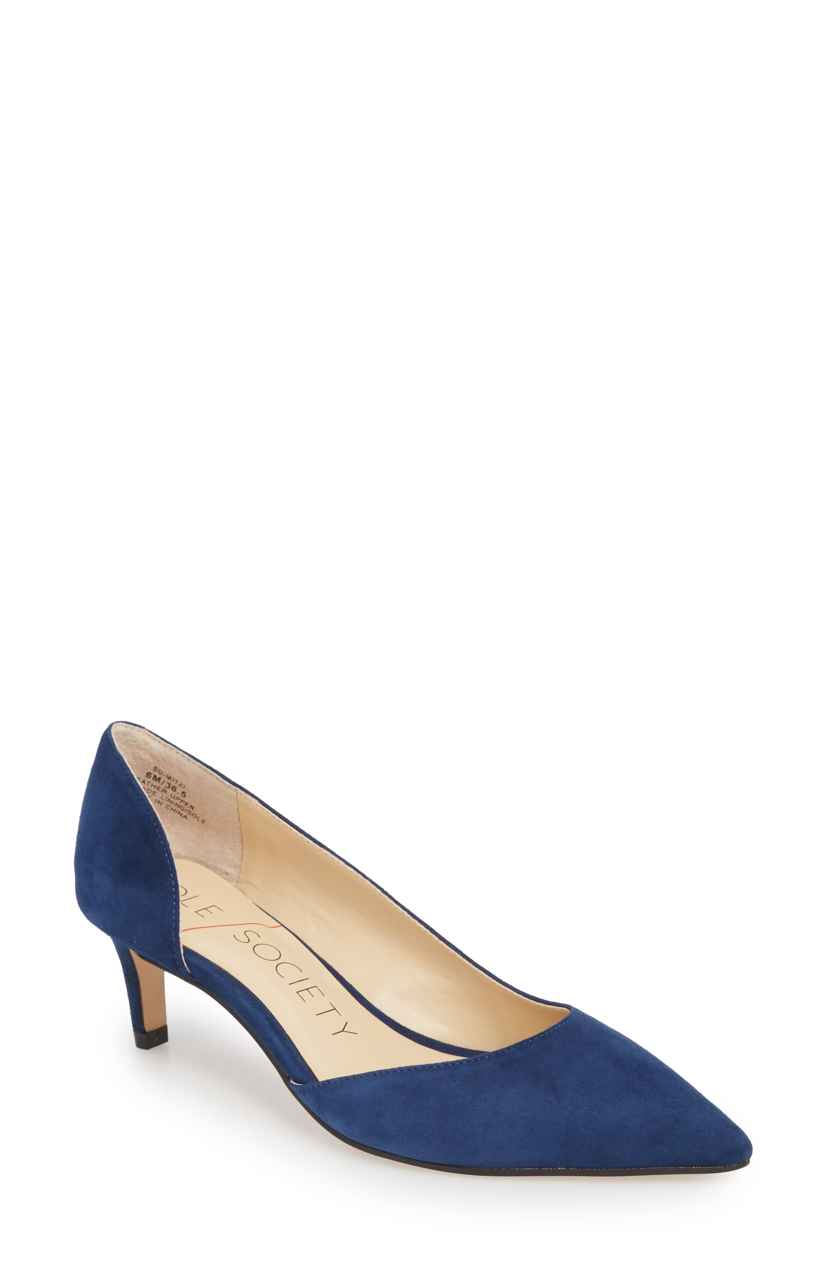 Sole Society Women's Mitzi Half D'Orsay Pump