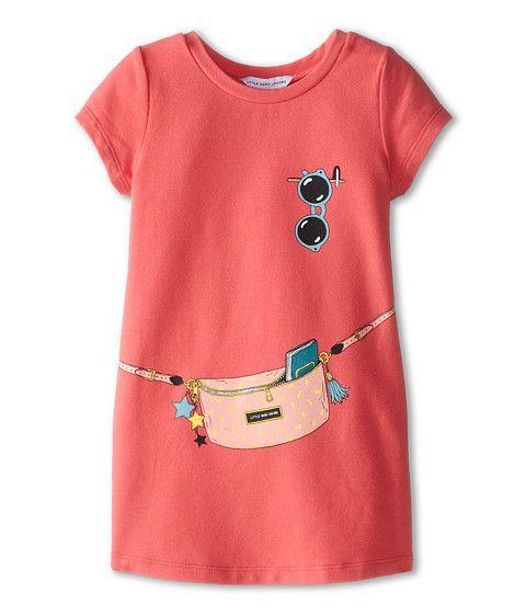Little Marc Jacobs S/S Tromp L'Oeil Fleece Dress (Toddler/Little Kid) Rose - Zappos.com Free Shipping BOTH Ways