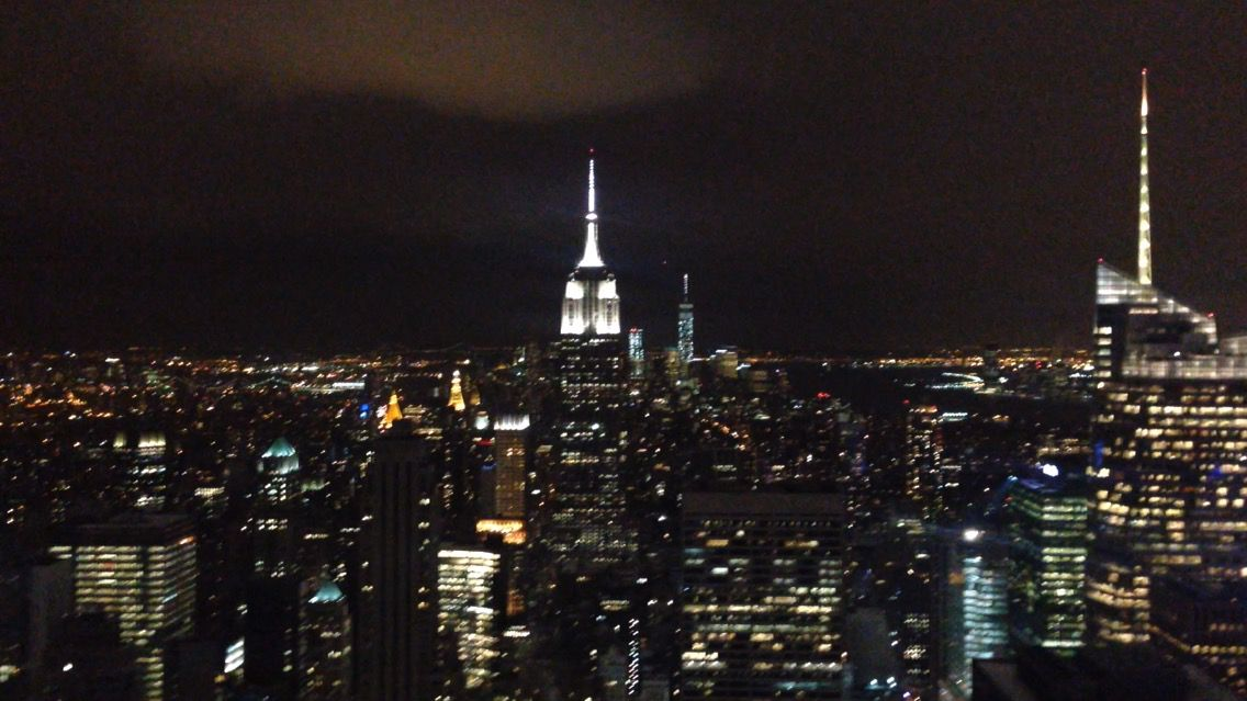 Spent a few days in NYC popped up to the top of the rock!