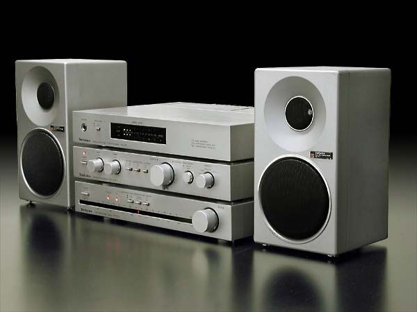 Concise Component Stereo By Technics Hifi Audio