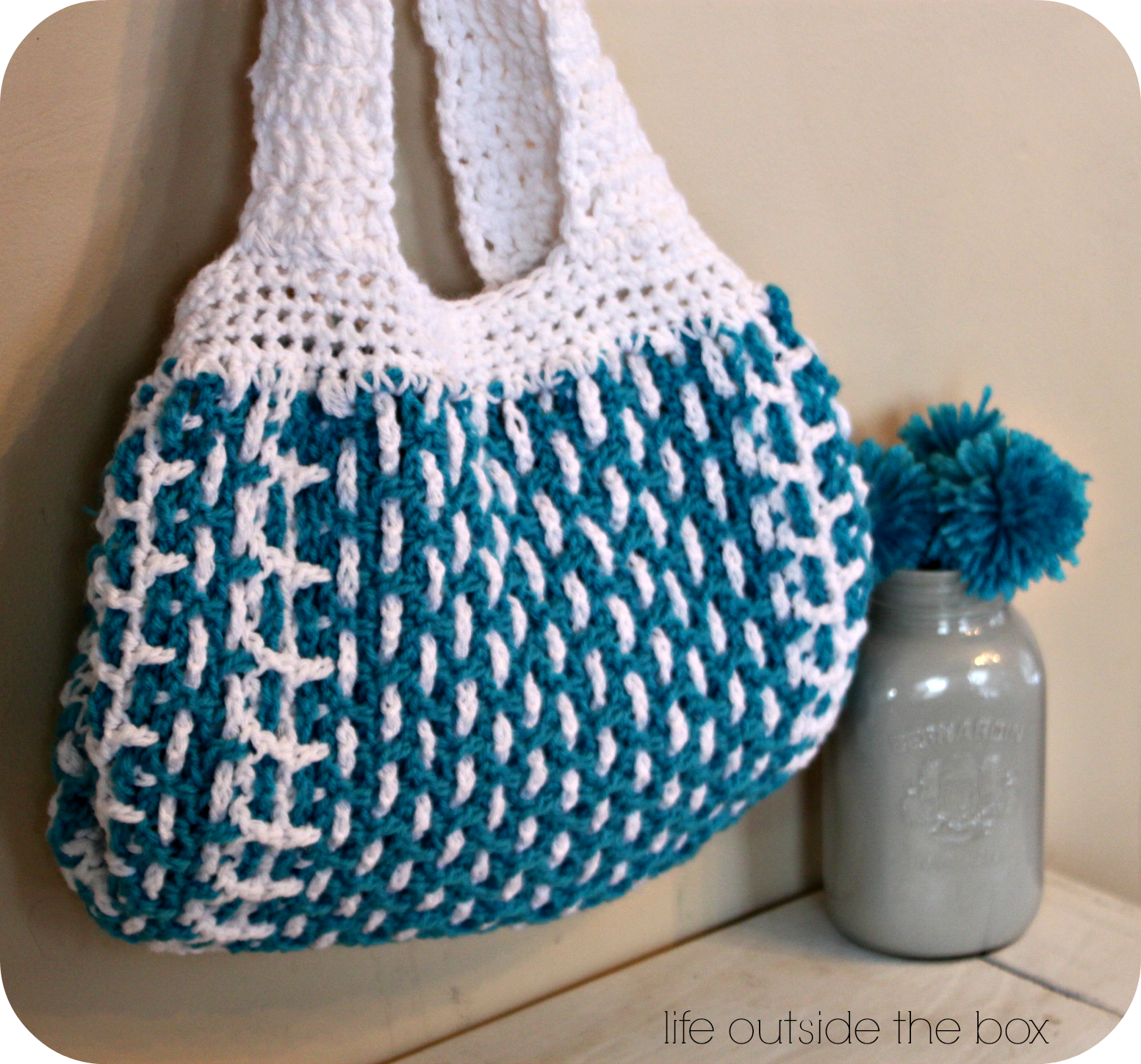 Easy+Crochet+Tote+Bag+Pattern | Free Crochet Tote Bag Patterns ...