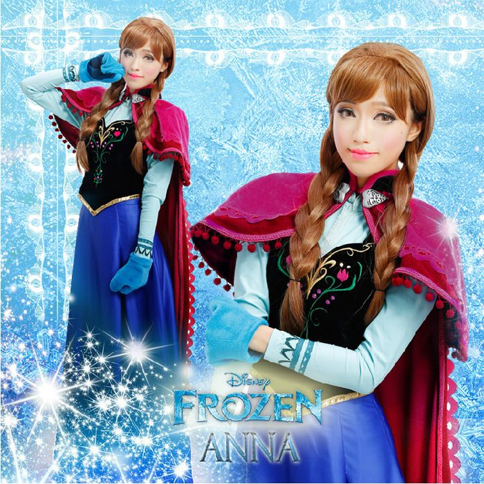 Frozen Anna Costume for Adults