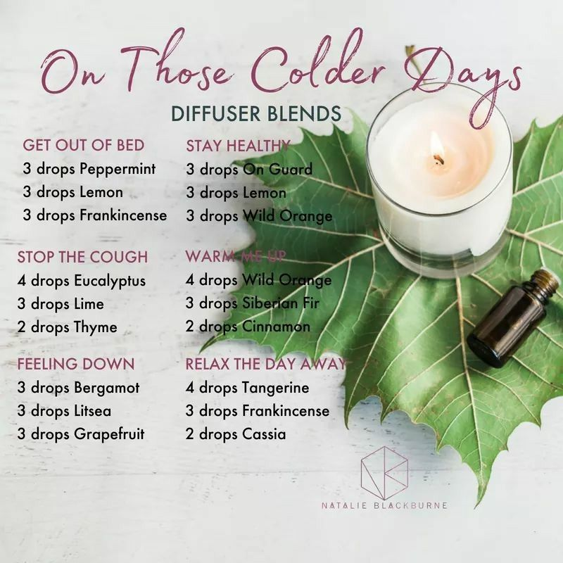 Cold blends #winterdiffuserblends