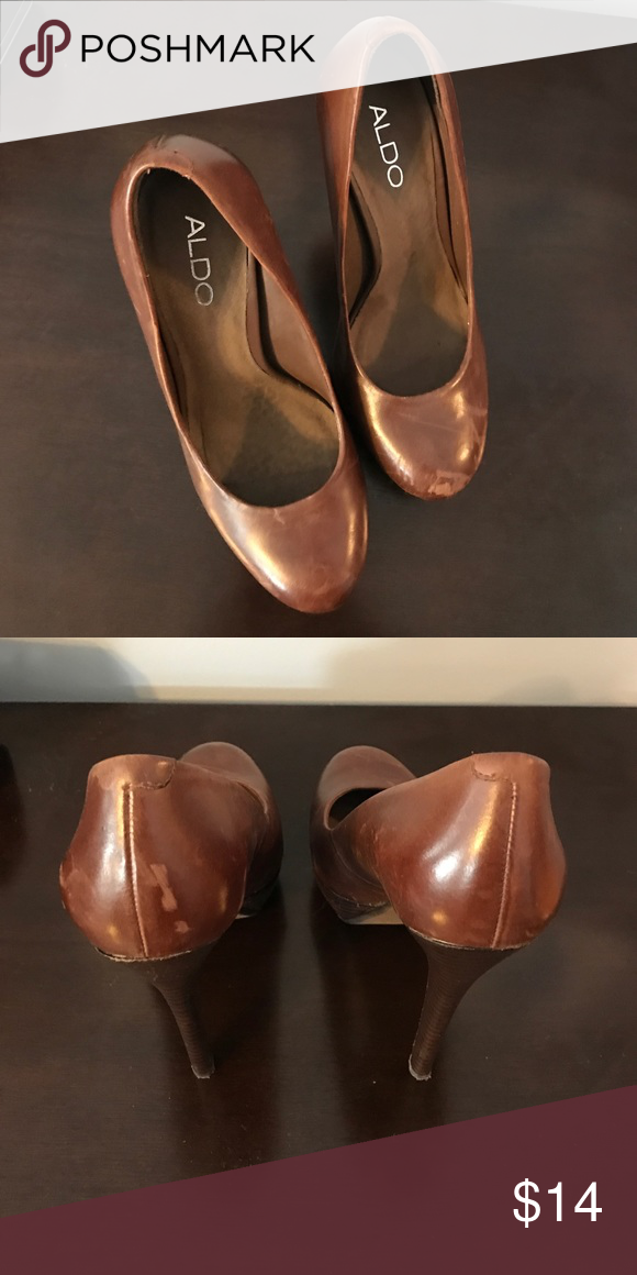 size Aldo shoes There Women's 37 Women's shoes are brown Aldo qXt4vn6