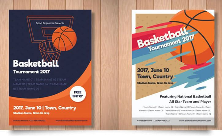 15 Free Basketball Flyer Templates In Psd Vector Free Basketball