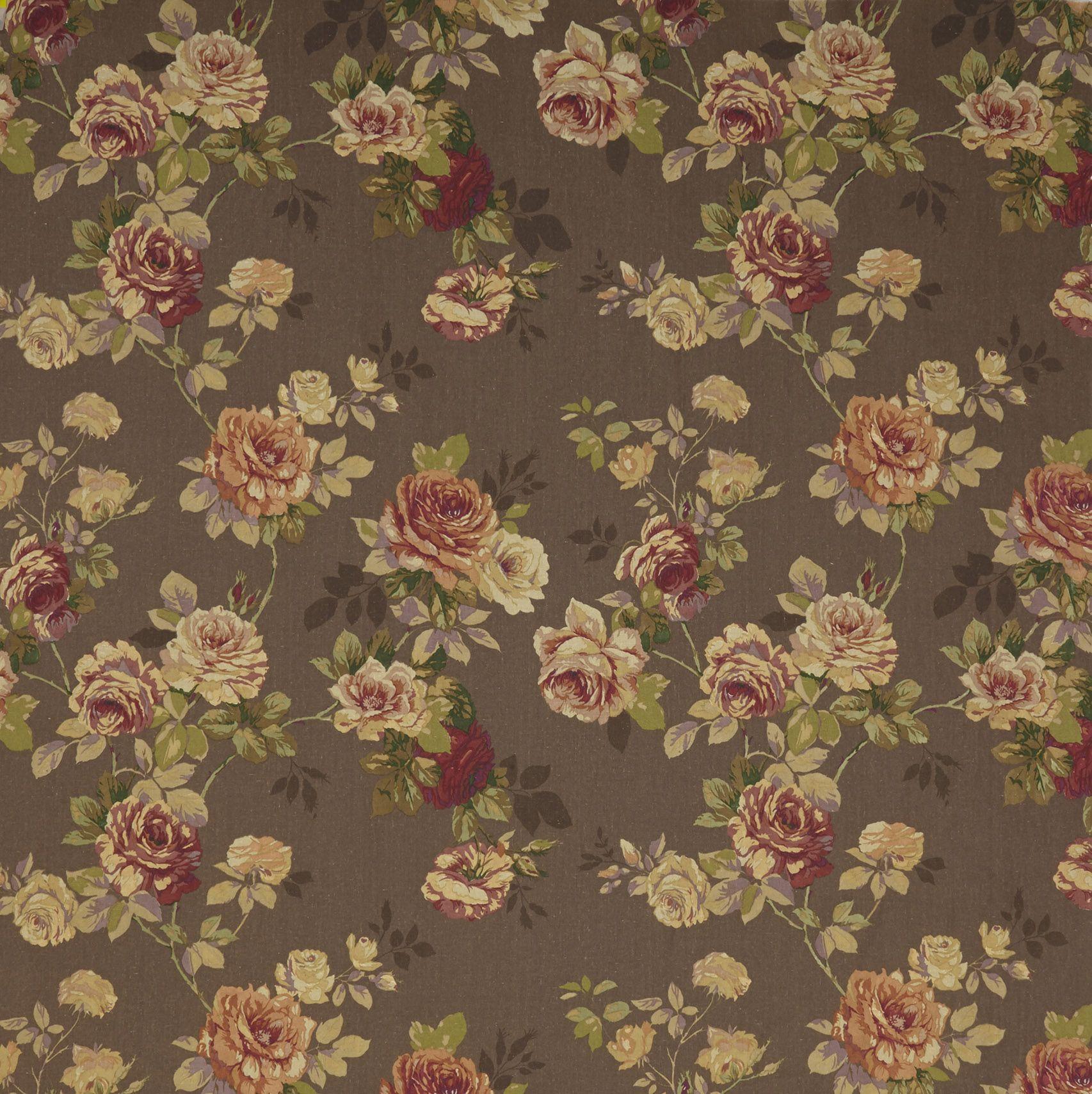 Edinburgh Weavers English Rose Chocolate