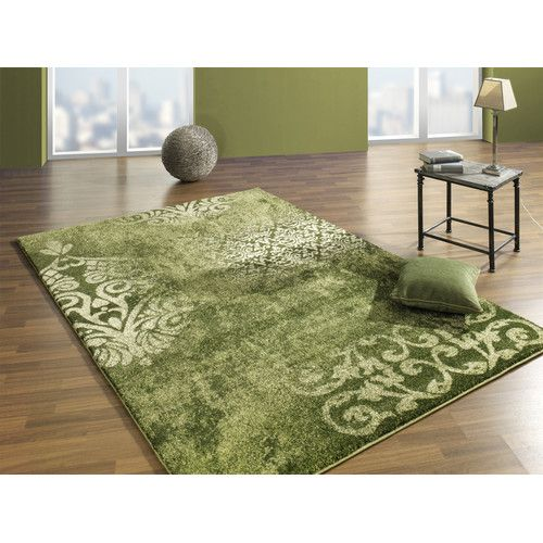 26 Relaxing Green Living Room Ideas: Found It At Wayfair.co.uk - Green Area Rug