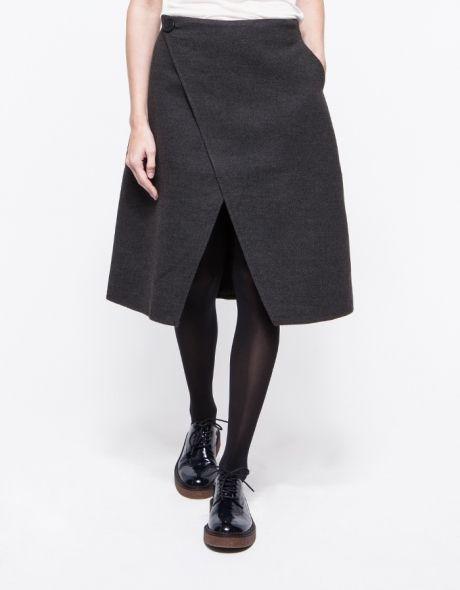 Origami Skirt Origami Skirt Origami And Grey Flannel