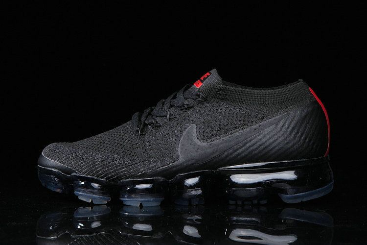 official photos 53f71 899c4 New Style Air Max Family Cheapest 2017 NIKE AIR VAPORMAX FLYKNIT MENS SHOES  BLACK RED